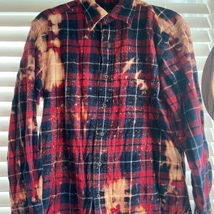 St.Johns Bay Hand-Dyed Flannel